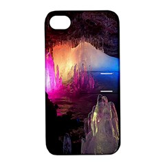 Cave In Iceland Apple Iphone 4/4s Hardshell Case With Stand by trendistuff