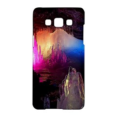 CAVE IN ICELAND Samsung Galaxy A5 Hardshell Case  by trendistuff