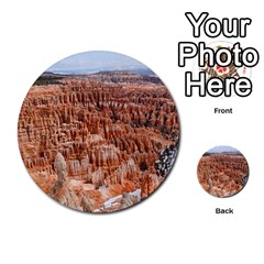 BRYCE CANYON AMP Multi-purpose Cards (Round)  by trendistuff
