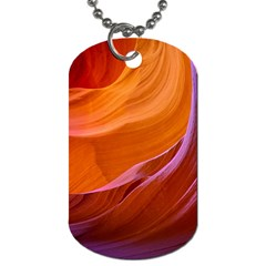 Antelope Canyon 2m Dog Tag (two Sides) by trendistuff