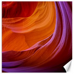 Antelope Canyon 2m Canvas 12  X 12   by trendistuff