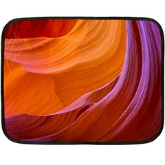 Antelope Canyon 2m Double Sided Fleece Blanket (mini)  by trendistuff