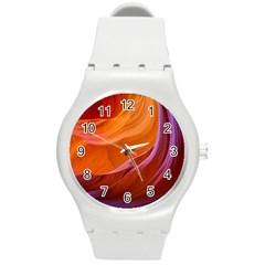 Antelope Canyon 2m Round Plastic Sport Watch (m) by trendistuff