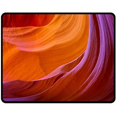 Antelope Canyon 2m Double Sided Fleece Blanket (medium)  by trendistuff