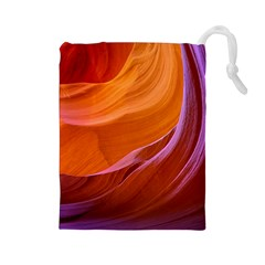 Antelope Canyon 2m Drawstring Pouches (large)  by trendistuff