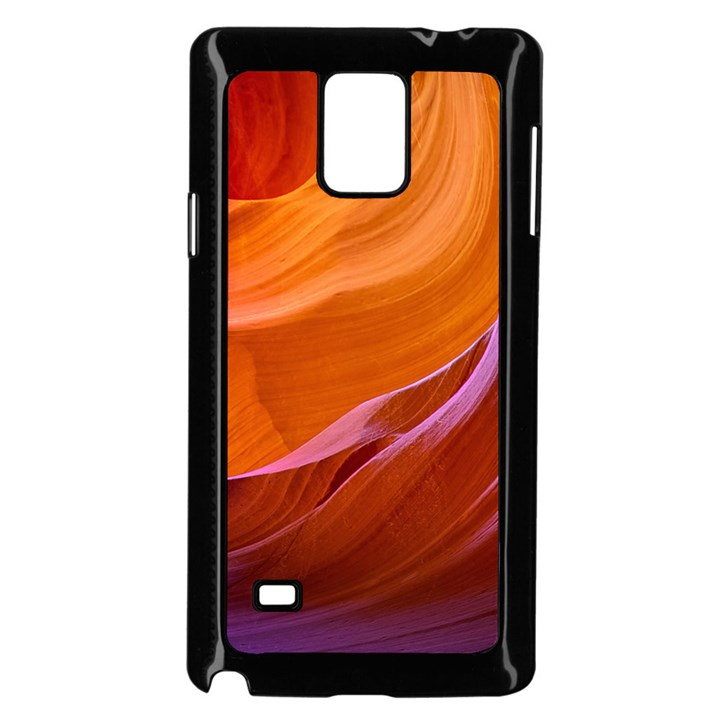 ANTELOPE CANYON 2M Samsung Galaxy Note 4 Case (Black)