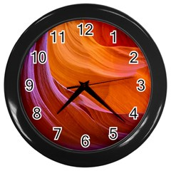 Antelope Canyon 2 Wall Clocks (black) by trendistuff