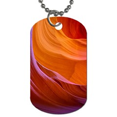 Antelope Canyon 2 Dog Tag (one Side) by trendistuff
