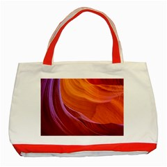 Antelope Canyon 2 Classic Tote Bag (red)  by trendistuff