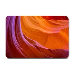 Antelope Canyon 2 Small Doormat  by trendistuff