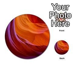 Antelope Canyon 2 Multi Purpose Cards (round)  by trendistuff