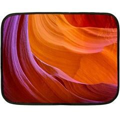 Antelope Canyon 2 Fleece Blanket (mini) by trendistuff