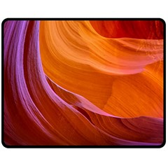 Antelope Canyon 2 Fleece Blanket (medium)  by trendistuff