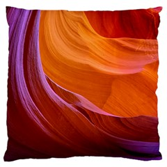 Antelope Canyon 2 Large Cushion Cases (two Sides)  by trendistuff