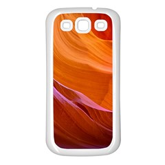 Antelope Canyon 2 Samsung Galaxy S3 Back Case (white) by trendistuff