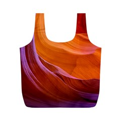 Antelope Canyon 2 Full Print Recycle Bags (m)  by trendistuff