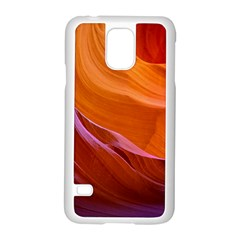 Antelope Canyon 2 Samsung Galaxy S5 Case (white) by trendistuff