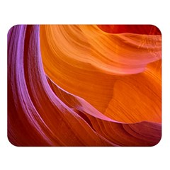 Antelope Canyon 2 Double Sided Flano Blanket (large)  by trendistuff