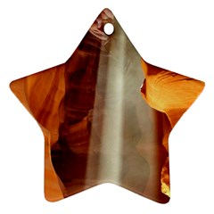 Antelope Canyon 1 Ornament (star)  by trendistuff