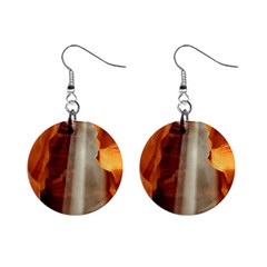 Antelope Canyon 1 Mini Button Earrings by trendistuff