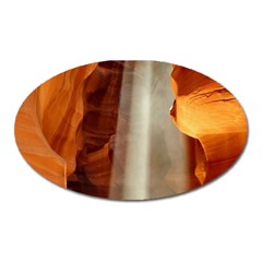 Antelope Canyon 1 Oval Magnet by trendistuff