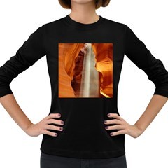 Antelope Canyon 1 Women s Long Sleeve Dark T Shirts by trendistuff