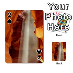 ANTELOPE CANYON 1 Playing Cards 54 Designs  by trendistuff