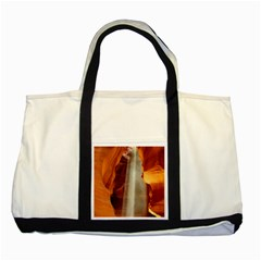 Antelope Canyon 1 Two Tone Tote Bag  by trendistuff