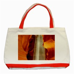 Antelope Canyon 1 Classic Tote Bag (red)  by trendistuff