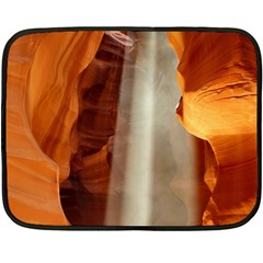 Antelope Canyon 1 Fleece Blanket (mini) by trendistuff