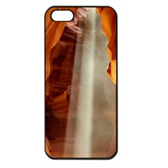 Antelope Canyon 1 Apple Iphone 5 Seamless Case (black) by trendistuff