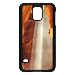 Antelope Canyon 1 Samsung Galaxy S5 Case (black) by trendistuff