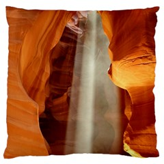 Antelope Canyon 1 Standard Flano Cushion Cases (two Sides)  by trendistuff