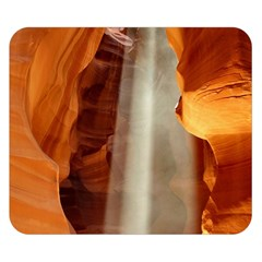 Antelope Canyon 1 Double Sided Flano Blanket (small)  by trendistuff