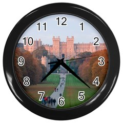 Windsor Castle Wall Clocks (black) by trendistuff