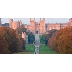 Windsor Castle You Are Invited 3d Greeting Card (8x4)