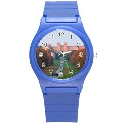 Windsor Castle Round Plastic Sport Watch (s) by trendistuff
