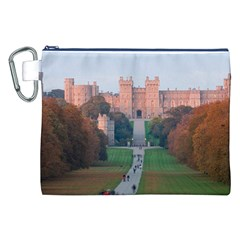 Windsor Castle Canvas Cosmetic Bag (xxl)  by trendistuff