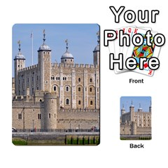 Tower Of London 2 Multi Purpose Cards (rectangle)