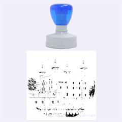 Tower Of London 2 Rubber Round Stamps (large) by trendistuff