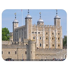 Tower Of London 2 Double Sided Flano Blanket (medium)  by trendistuff