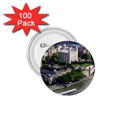 TOWER OF LONDON 1 1.75  Buttons (100 pack)  by trendistuff