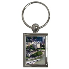 Tower Of London 1 Key Chains (rectangle)  by trendistuff