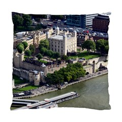 Tower Of London 1 Standard Cushion Case (one Side)  by trendistuff