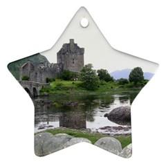 Scotland Eilean Donan Ornament (star)  by trendistuff