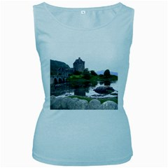 Scotland Eilean Donan Women s Baby Blue Tank Tops by trendistuff