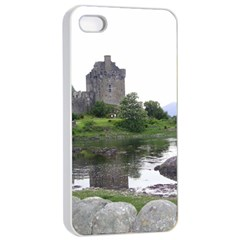 Scotland Eilean Donan Apple Iphone 4/4s Seamless Case (white) by trendistuff