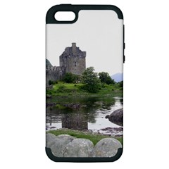 Scotland Eilean Donan Apple Iphone 5 Hardshell Case (pc+silicone) by trendistuff