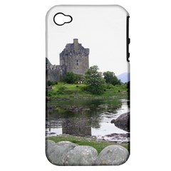 Scotland Eilean Donan Apple Iphone 4/4s Hardshell Case (pc+silicone) by trendistuff
