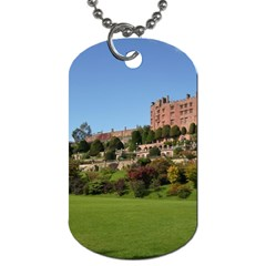 Powis Castle Terraces Dog Tag (two Sides) by trendistuff